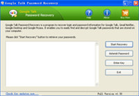 Google Talk Password Recovery