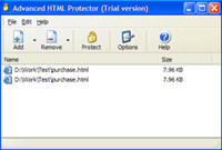 Advanced HTML Protector