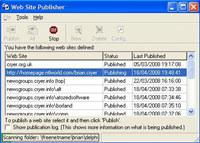 Web Site Publisher