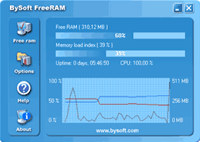 BySoft FreeRAM screenshot medium