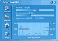 BySoft FreeRAM screenshot medium