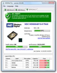 HDDlife Pro screenshot medium