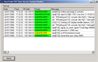 Windows NTP Time Server Syslog Monitor