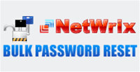 Netwrix Bulk Password Reset