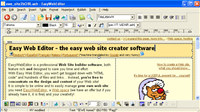 Easy Web Editor Italiano screenshot medium