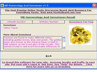MB Numerology And Gemstones