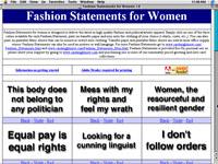 Fashion Statements for Women