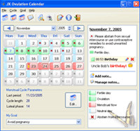 JX Ovulation Calendar screenshot medium