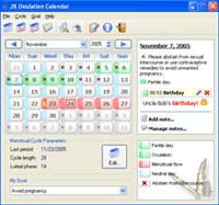 JX Ovulation Calendar screenshot medium