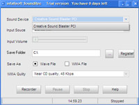 infallsoft Sound Recorder