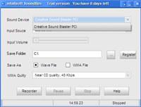 infallsoft Sound Recorder