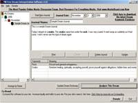 MB Dream Interpretation Software