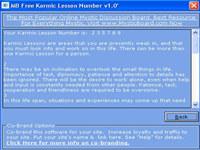 MB Karmic Lesson Number