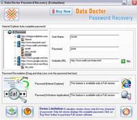 Internet Explorer Passwords Rescue Tool