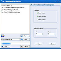 ZIP Password Recovery Magic