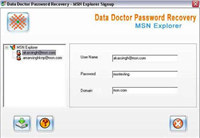Recover MSN Messenger Password