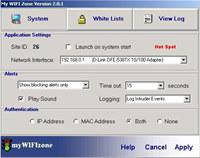 myWIFIzone WIFI Internet Access Blocker