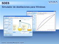 SDES - Simulador de destilaciones