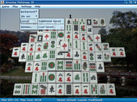 Amazing Mahjongg 3D screenshot medium