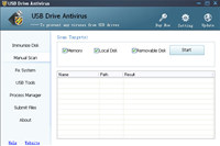 USB Drive Antivirus screenshot medium