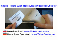 BarcodeChecker - Check Tickets