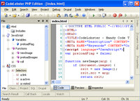 CodeLobster PHP Edition screenshot medium