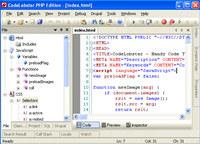 CodeLobster PHP Edition screenshot medium