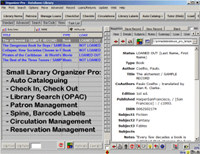 Small Library Organizer Pro screenshot medium