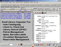 Small Library Organizer Pro