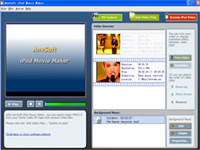 AnvSoft iPod Movie Maker screenshot medium