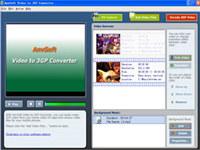 AnvSoft Video to 3GP Converter screenshot medium