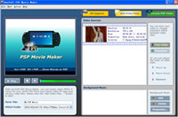 AnvSoft PSP Movie Maker screenshot medium