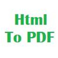 Html To PDF For Windows