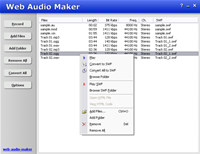 Web Audio Maker