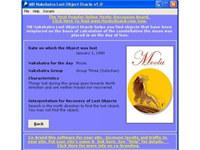 MB Nakshatra Lost Object Oracle