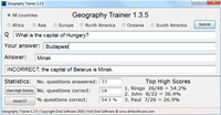 Geography Trainer