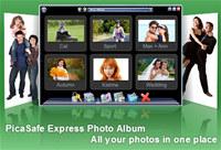 PicaSafe Express Photo Album