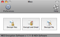 MEO File Encryption for Mac