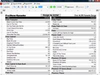 Song List Generator