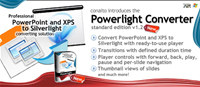 Powerlight Converter - Easy and rapid PowerPoint and XPS to Silverlight converting screenshot medium