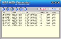 AbyssMedia MP3 to WAV Converter