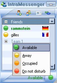 IntraMessenger screenshot medium