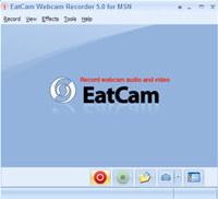 EatCam Webcam Recorder for MSN