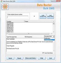 Mass SMS Sending Tool