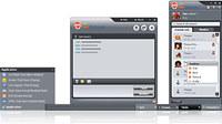 123 Web Messenger Software (Linux)