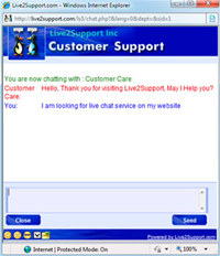 Live2support Live Chat Software  screenshot medium