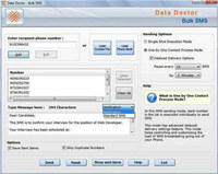 SMS Messages Broadcasting Software