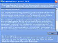 MB Destiny Number screenshot medium