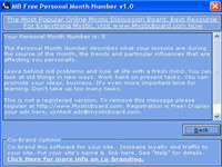 MB Personal Month Number