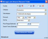 BeFrugal s Amazon Deal Finder